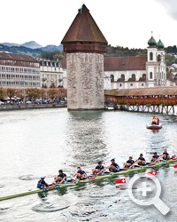 EasyFloat pontons bij Red Bull XRow in Luzern!
